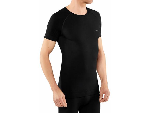 Falke Wool Tech Light T-Shirt À Manches Courtes Homme, black